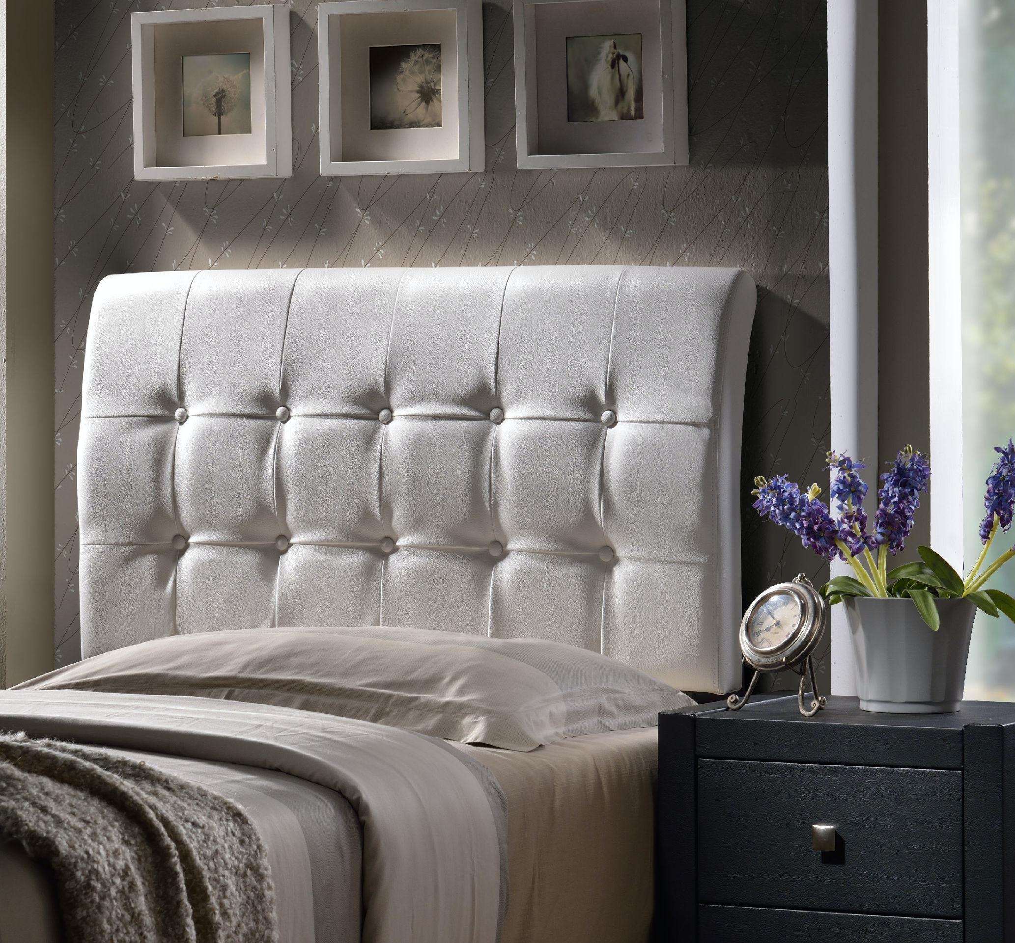 Hillsdale Furniture Lusso Headboard Set   Twin 1283 370