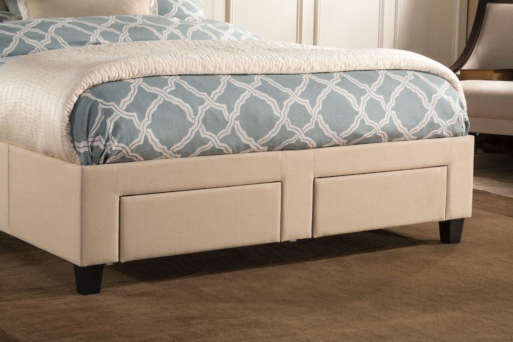 Hillsdale Furniture Bedroom Duggan Bed King Rails