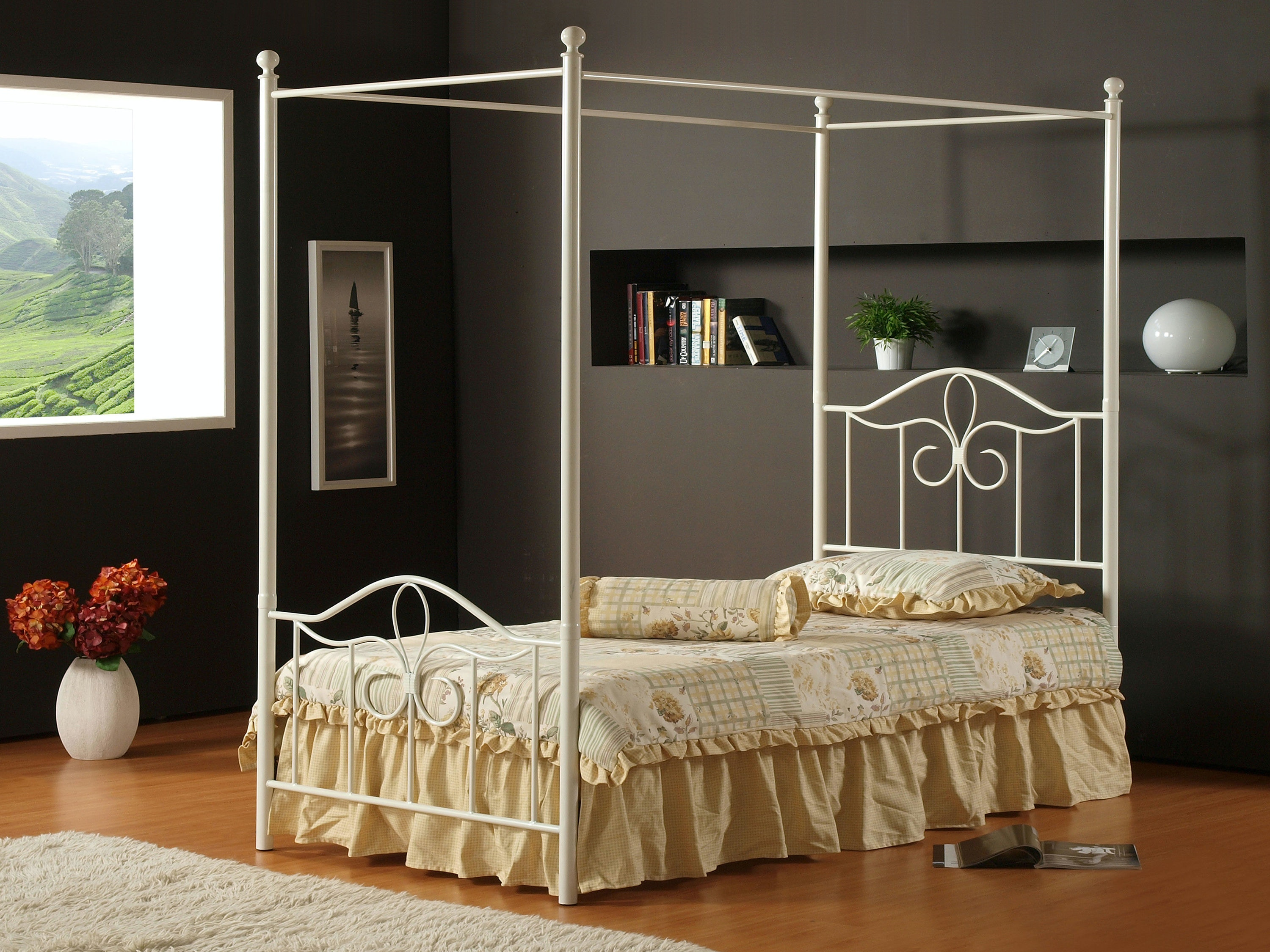 Hillsdale Furniture Bedroom Westfield Canopy Kit   Full 1354 261   Furniture  Kingdom   Gainesville, FL