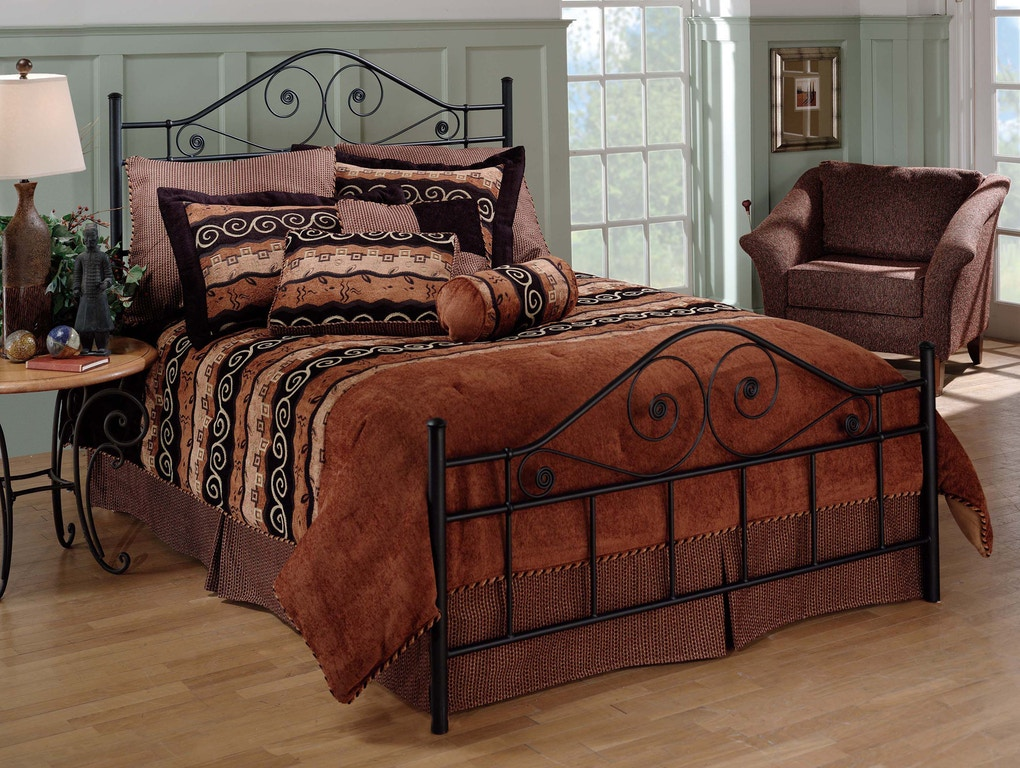 Hillsdale Furniture Bedroom Harrison Bed Set King Rails Not Included 1403bk Carol House