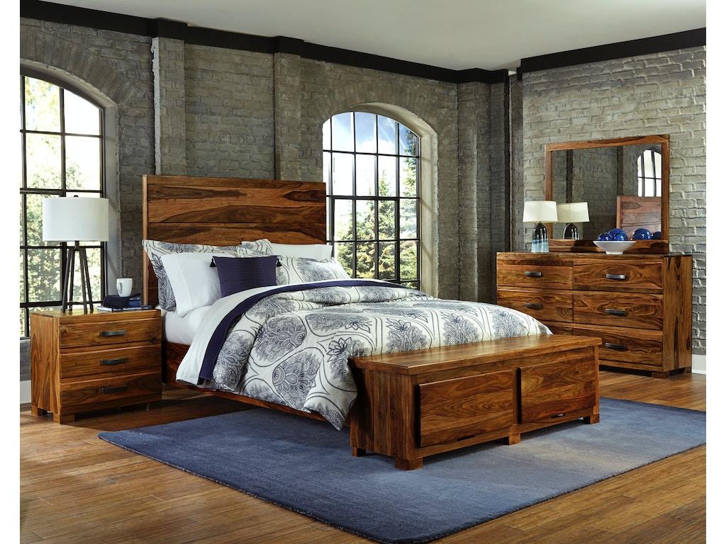 Hillsdale Furniture Madera 4-Piece Storage Platform