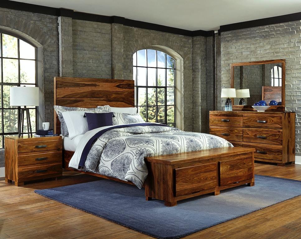 Hillsdale furniture madera 4 piece storage platform - Platform bedroom sets with storage ...