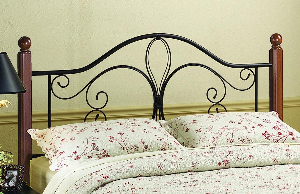 Hillsdale Furniture Bedroom Milwaukee Wood Post Headboard ...