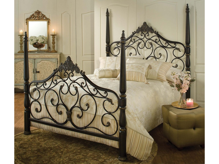 652fb8013cb0 Hillsdale Furniture Bedroom Parkwood Bed Set - Queen - with Rails 1450BQR  at Davis Furniture