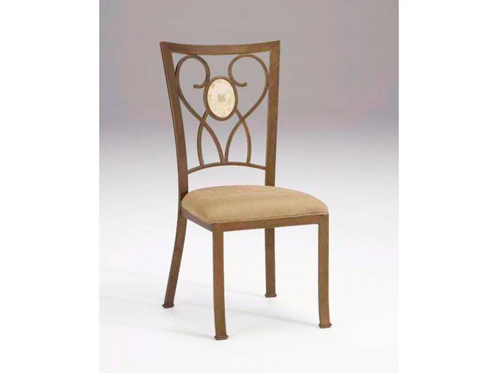Brookside oval fossil back dining chair set of 2 hil4815802 for Walter e smithe dining room sets