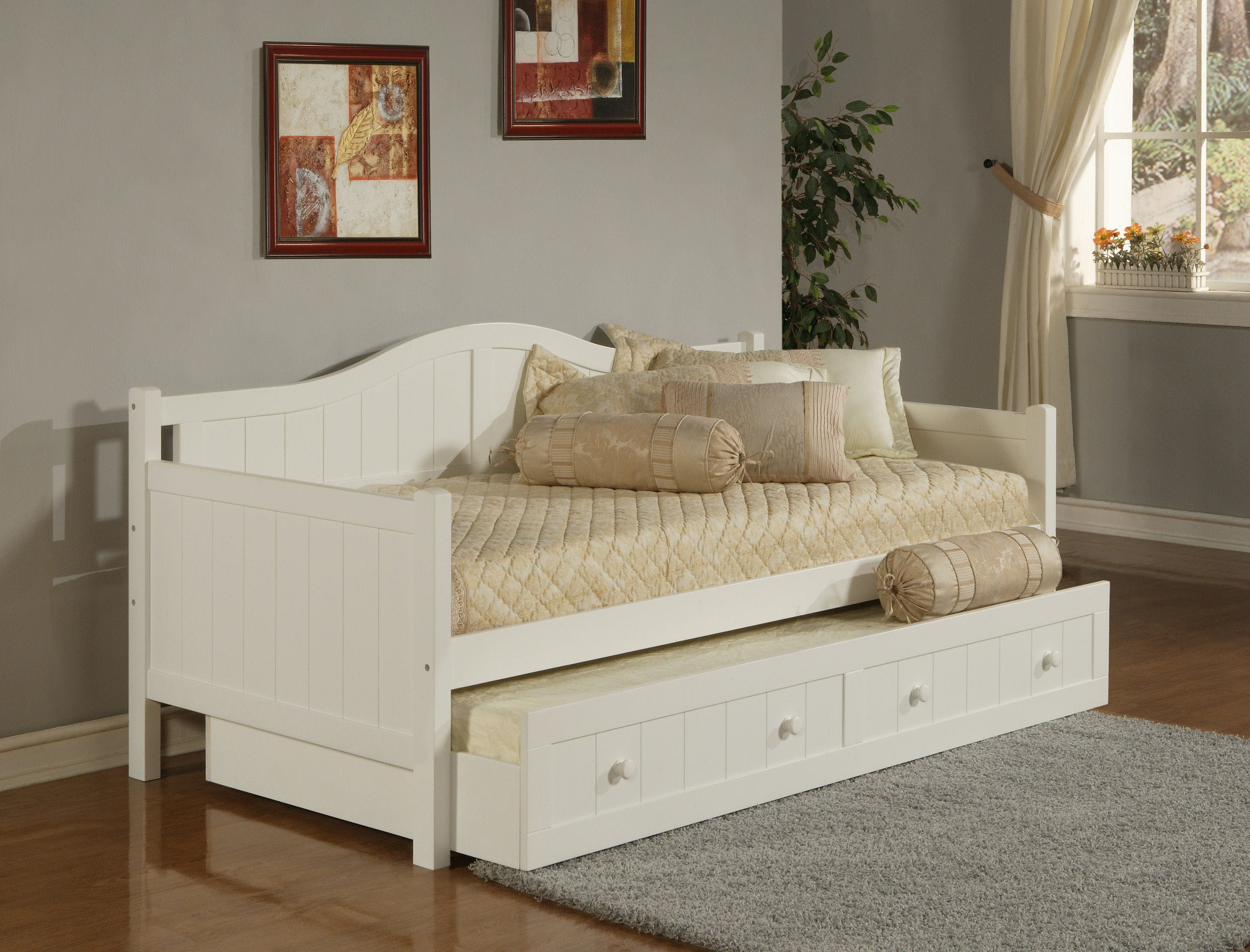 Hillsdale Furniture Bedroom Staci Daybed With Trundle