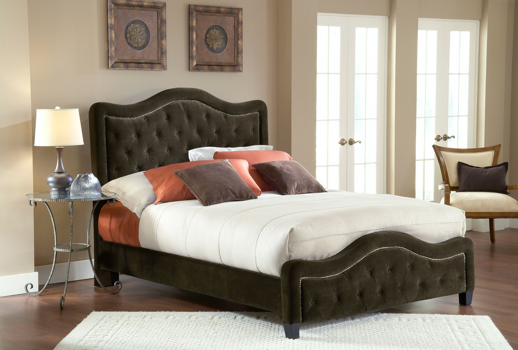 Trieste Bed Set - King/California King - with Rails