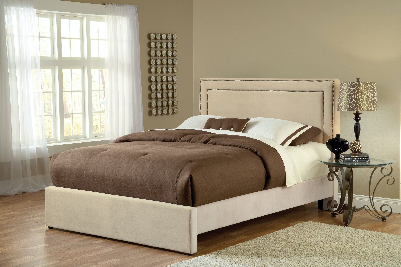 Hillsdale Furniture Bedroom Amber California King Bed Set With Rails 1566bckra Budget Furniture