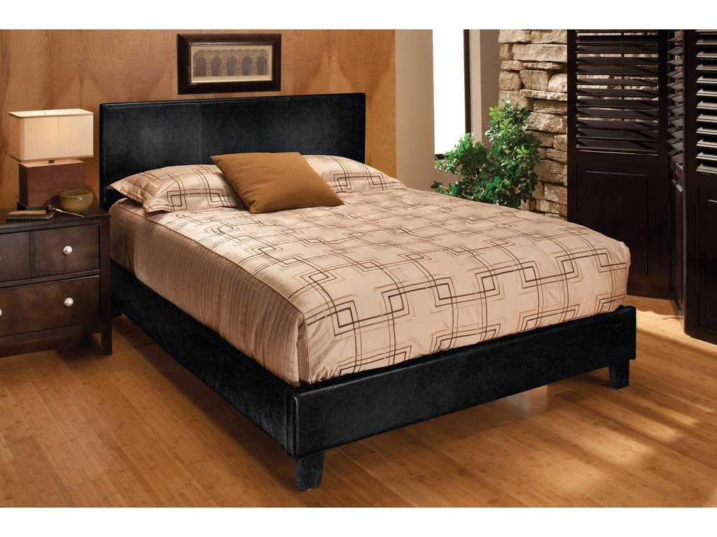Hillsdale Harbortown King Platform Bed Black