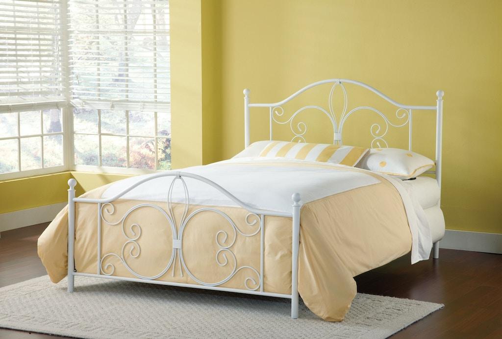 Hillsdale Furniture Bedroom Ruby Bed Set - Queen 1687-500 ...