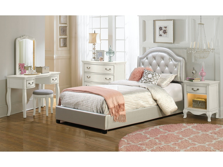 Hillsdale Furniture Youth Karley Bed Set - Full - Rails Included ...