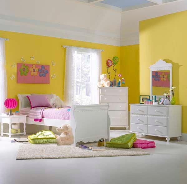 Hillsdale Furniture Lauren Bed   Full, Nightstand, Dresser, And Mirror  1528BFSR4PC