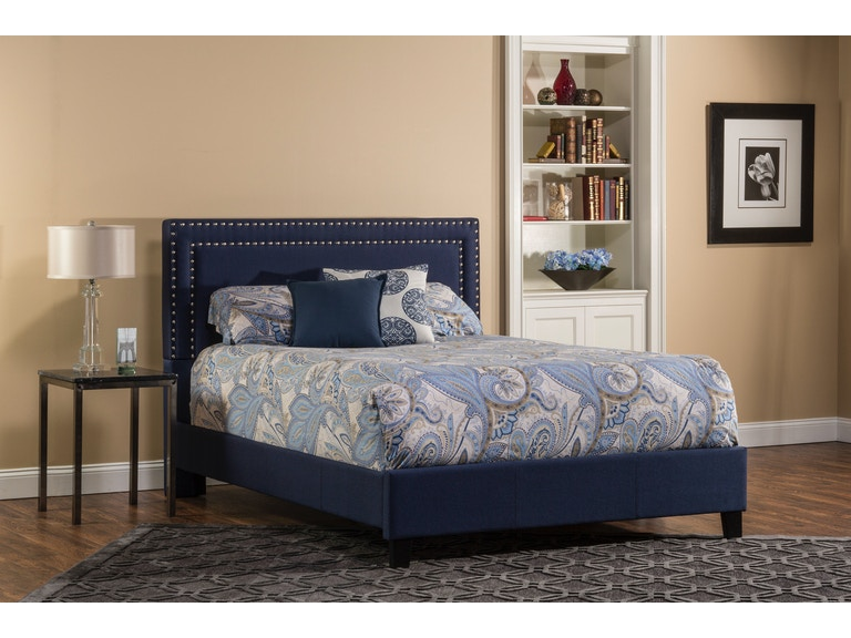 7ee2f8be97d1 Hillsdale Furniture Bedroom Davis Bed Set - Queen - Rails Included ...