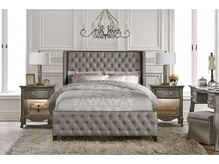Hillsdale Furniture Bedroom Memphis Bed Set -King - Rails ...