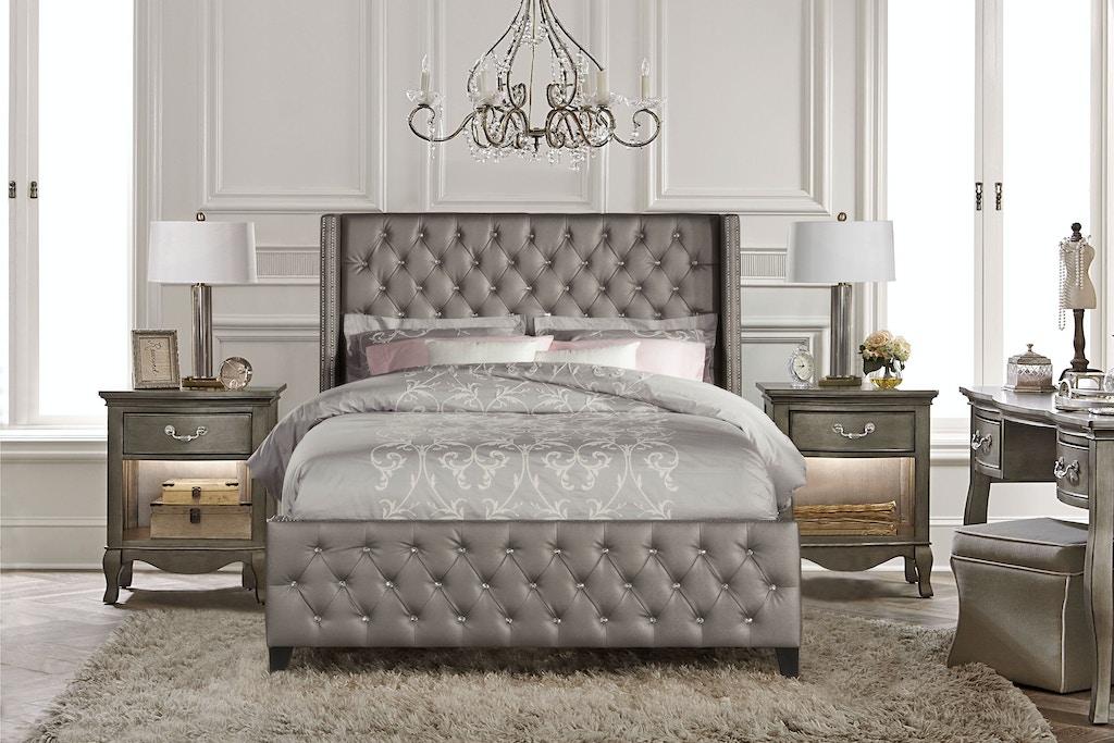Hillsdale Furniture Bedroom Memphis Bed Set -King - Rails ...