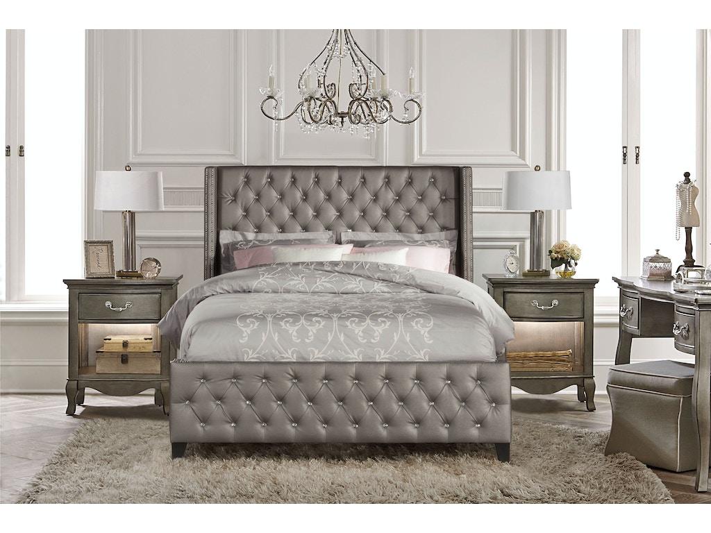 Hillsdale Furniture Bedroom Memphis Bed Set Queen Rails Included 1886bqr Klopfenstein Home
