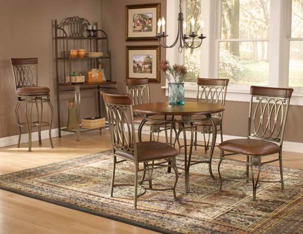 Hillsdale Furniture Dining Room Montello Round Dining