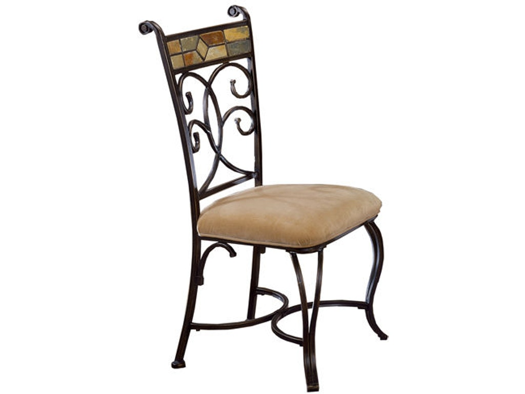 Pompeii dining chairs set of 2 hil4442802 for Walter e smithe dining room sets