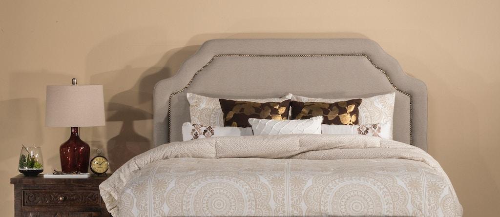 premium selection 0e989 24b2f Hillsdale Furniture Bedroom Carlyle Fabric Headboard - Queen ...