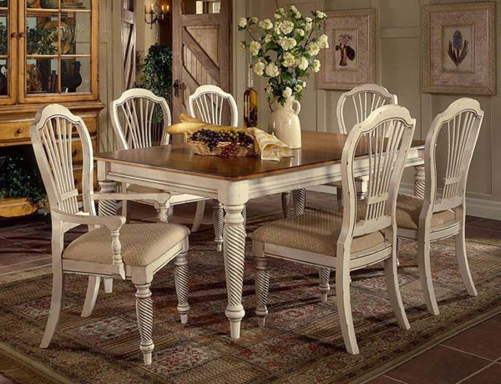 Hillsdale furniture dining room wilshire rectangle