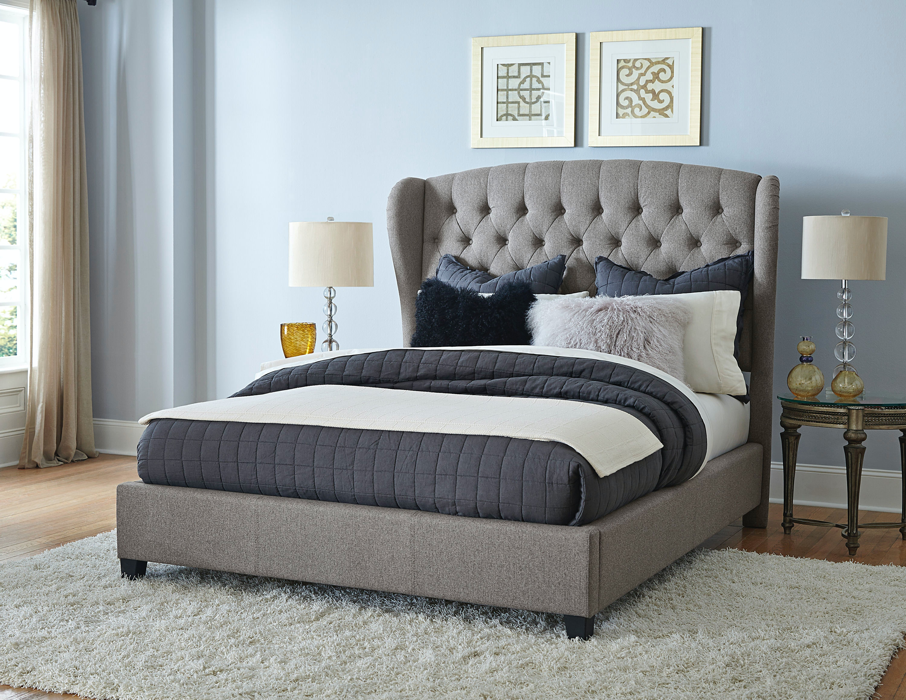 Hillsdale Furniture Bedroom Bromley Headboard And Footboard Queen