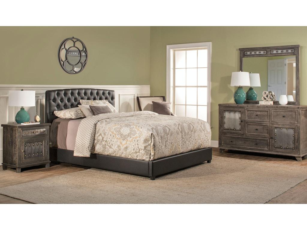 Hillsdale Furniture Bedroom Hawthorne Bed Set California King Bed Rails Included 1952bckr
