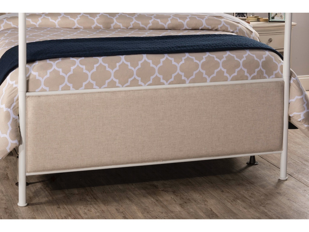 Hillsdale furniture bedroom mcarthur canopy bed set off for Queen bed frame and dresser set
