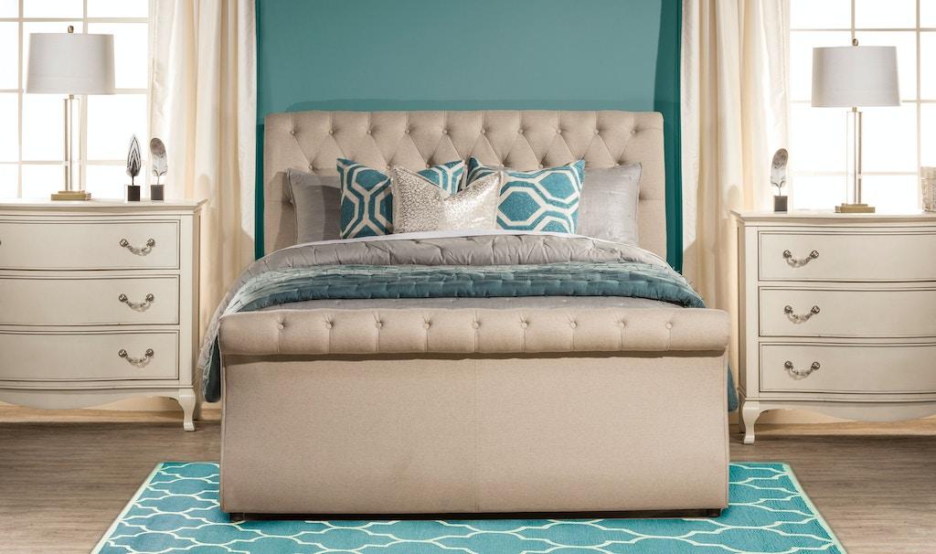 Hillsdale furniture bedroom hunter bed set king rails - King bedroom sets with mattress included ...