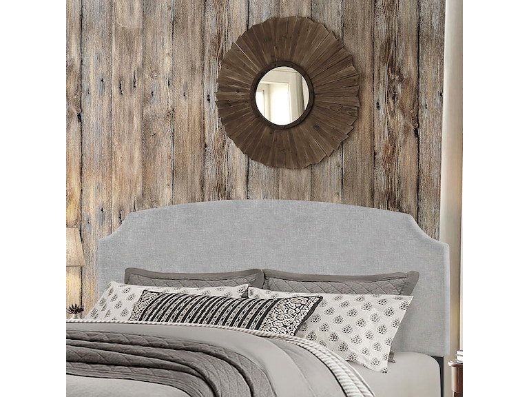 Hilale Furniture Bedroom Desi Headboard King Glacier Gray 2036 670 At Kiser