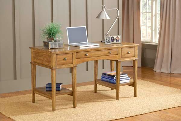 Charmant Hillsdale Furniture Gresham Desk   Medium Oak 4337 861S