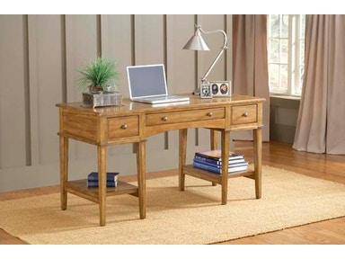 Hillsdale Furniture Gresham Desk - Medium Oak 4337-861S