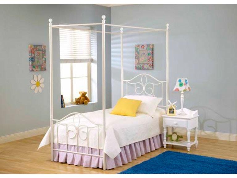 Hilale Furniture Westfield Canopy Kit Twin 1354 131