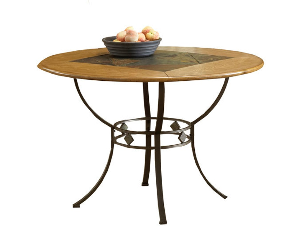 Lakeview Round Dining Table With Metal Legs HIL4264810