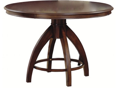 Hillsdale Furniture Nottingham Curved Round Pedestal Dining Table - Top 4077-813