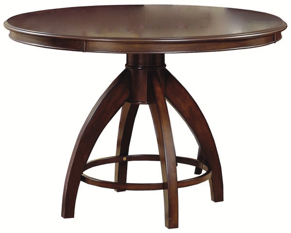 Hillsdale Furniture Dining Room Nottingham Curved Round Pedestal Dining  Table   Top 4077 813 At Furniture Kingdom