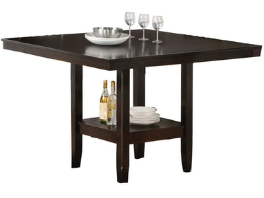 Hillsdale Furniture Tabacon Counter Height Gathering Table with Wine Storage Rack -Base 4155-835YM