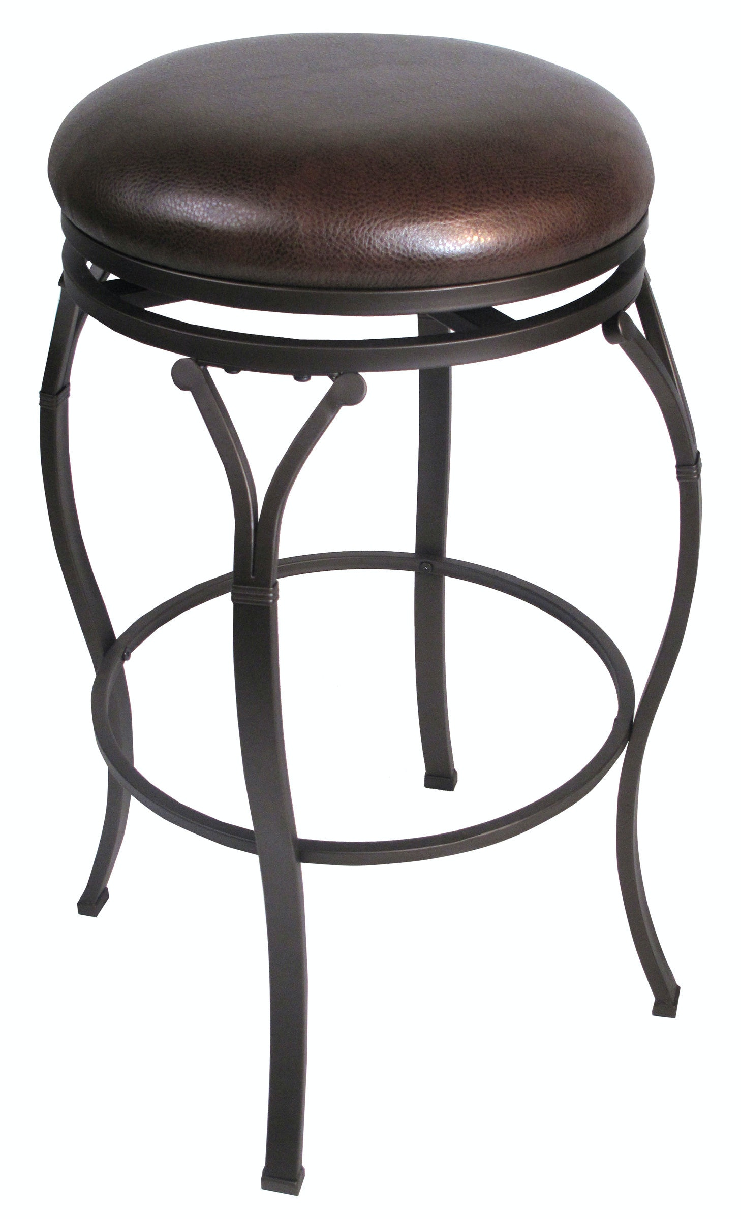 Hillsdale Furniture Bar And Game Room Stool 24 Swivel Backless