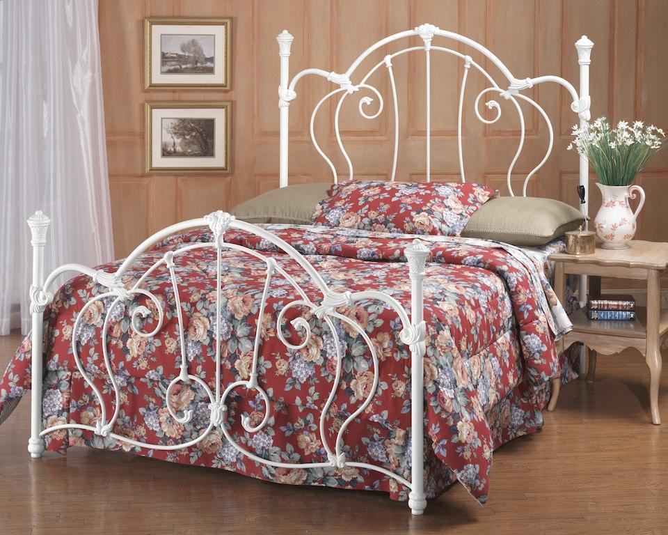 Hillsdale Furniture Bedroom Cherie Bed Set Queen With Rails 381bqr Furniture Kingdom