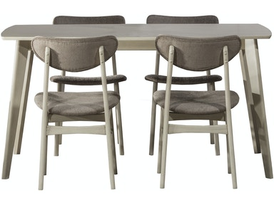 Hillsdale Furniture Bronx 5-Piece Rectangle Dining Set 4017DTBC5