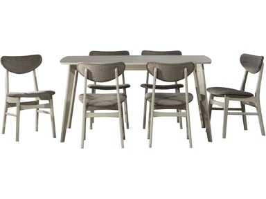 Hillsdale Furniture Bronx 7-Piece Rectangle Dining Set 4017DTBC7