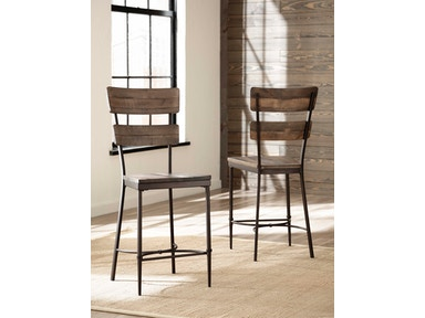 Hillsdale Furniture Jennings Non-Swivel Counter Stool - Set of 2 4022-822
