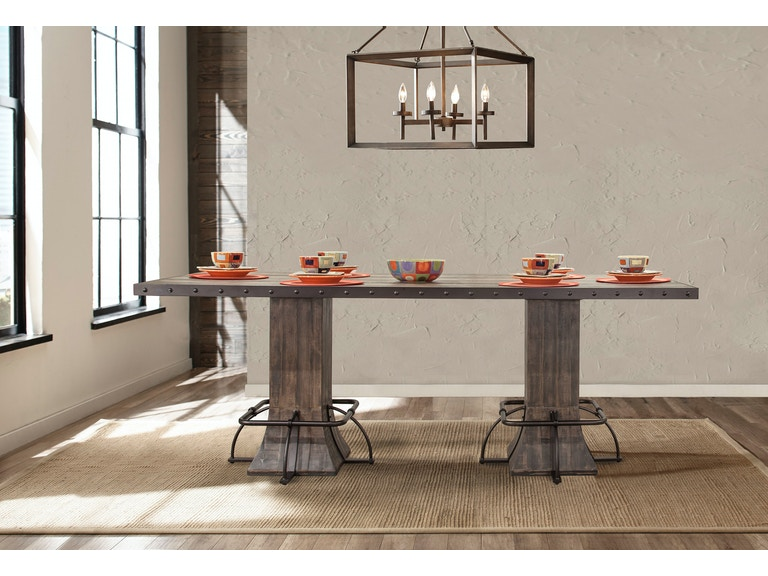 Jennings Rectangle Counter Height Dining Table