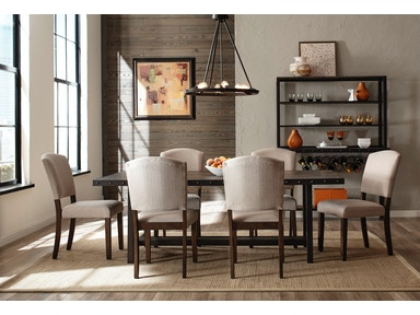 Hillsdale Furniture Jennings 7-Piece Dining Set with Emerson Chairs 4022DTBE7PC
