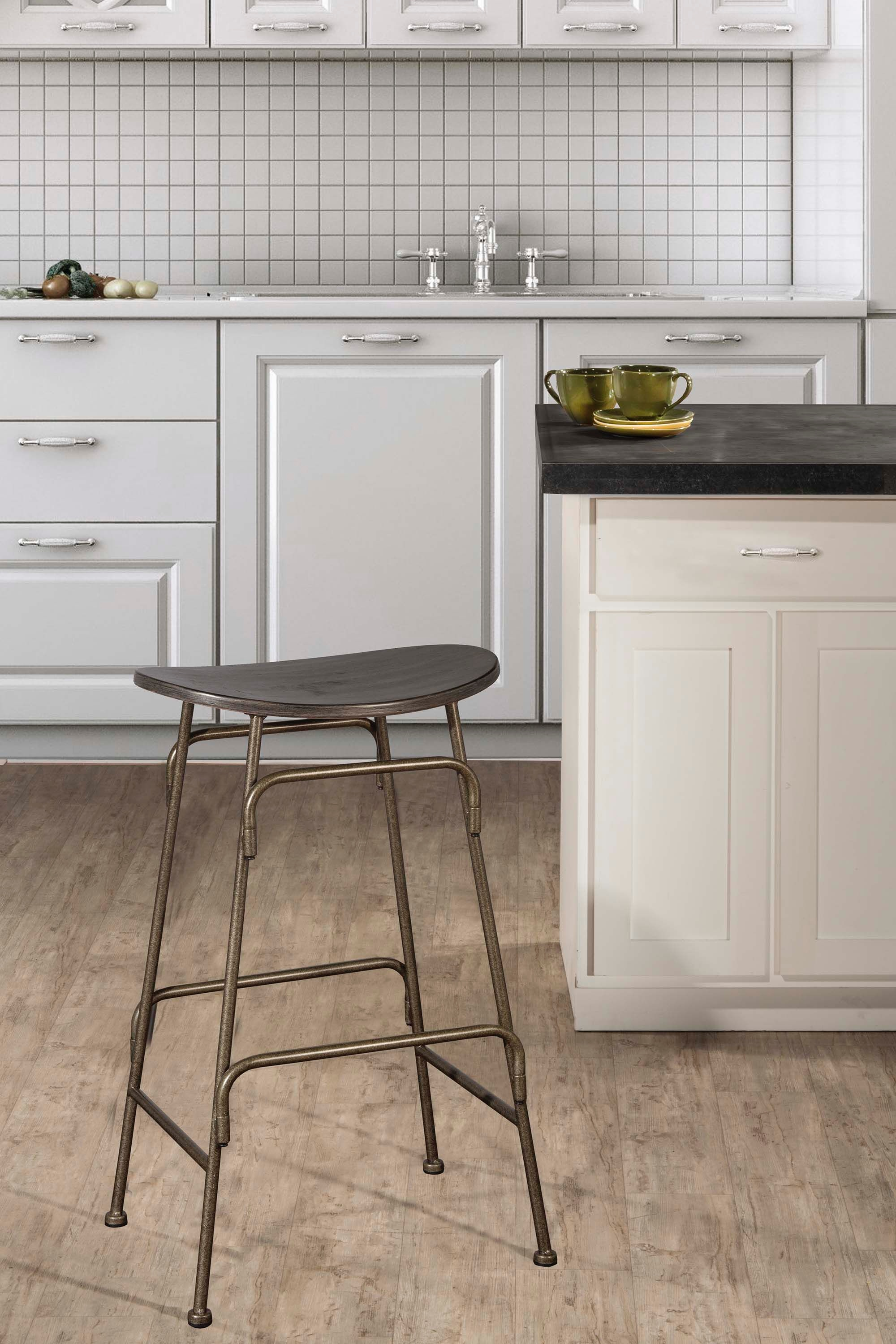 Tremendous Hillsdale Furniture Bar And Game Room Mitchell Non Swivel Backless Counter Stool Hil4032827 Walter E Smithe Furniture Design Gmtry Best Dining Table And Chair Ideas Images Gmtryco
