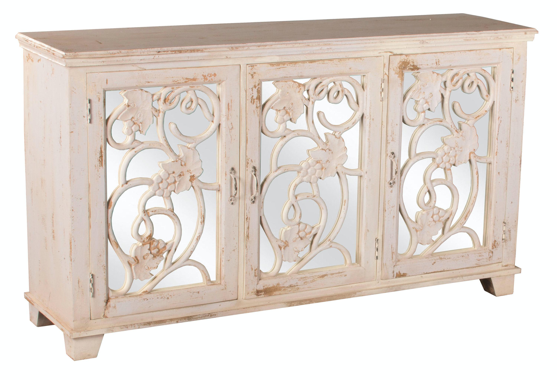 Hillsdale Furniture Living Room Malbec Decorative Mirrored Console