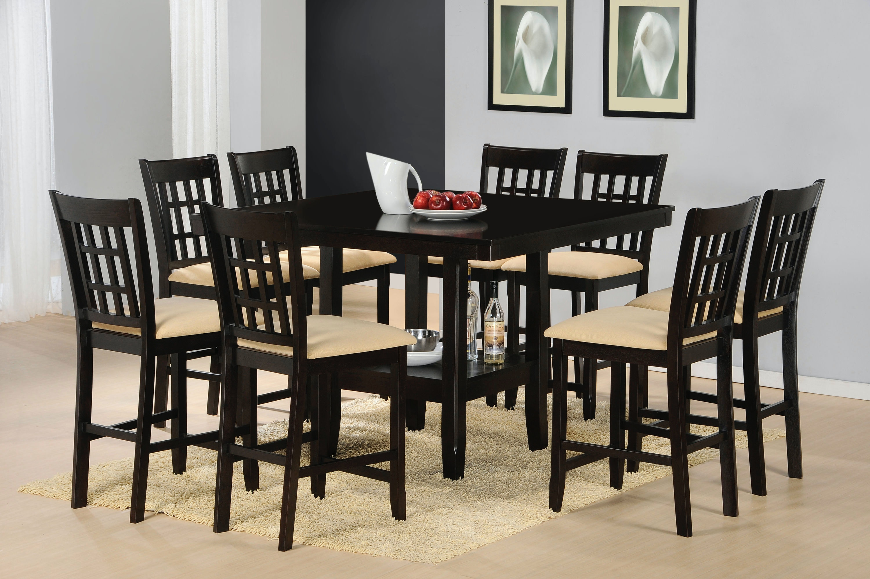 Hillsdale Furniture Tabacon 9 Piece Dining Set 4155DTBGS9