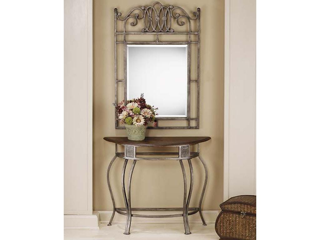 Hillsdale Furniture Living Room Montello Console Table Hil41547 Walter E Smithe Furniture Design
