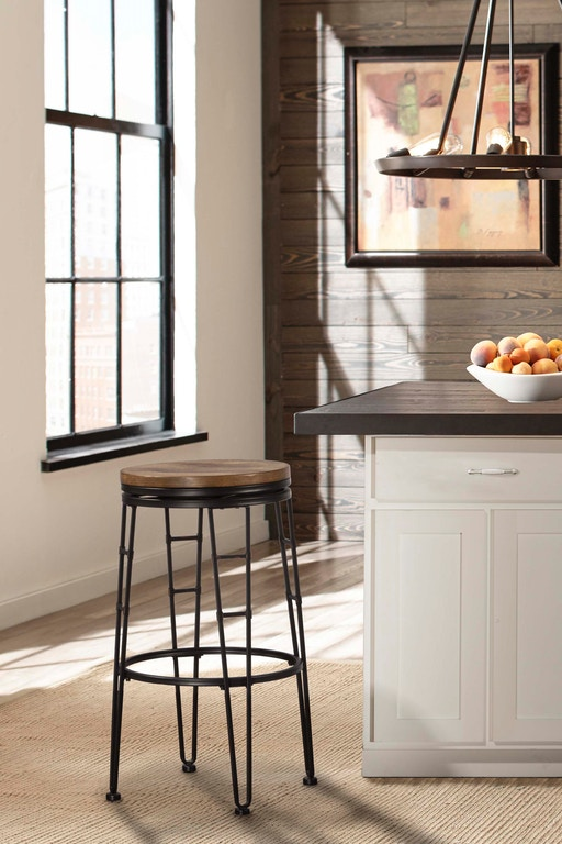 Bar Height Stool Has A 30 Inch By 17 Width Depth Embly Required Northpark Backless Swivel 4263 830 Hilale Furniture