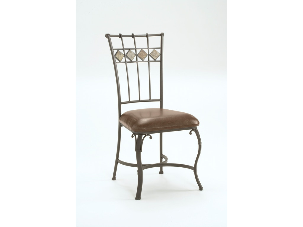 Lakeview dining chair with slate in back set of 2 hil4264802 for Walter e smithe dining room sets