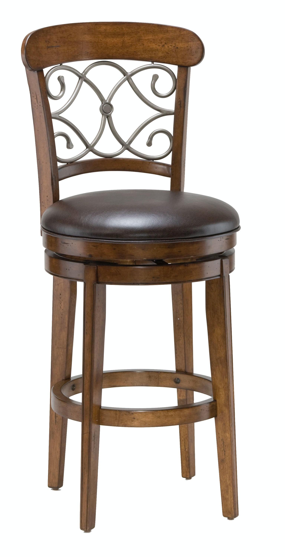 Hillsdale Furniture Bergamo Swivel Bar Stool 4299 830S